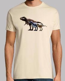 Camiseta Trio de Albertosaurus