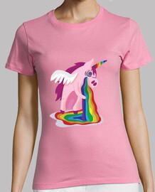 Camiseta Unicornio rosado