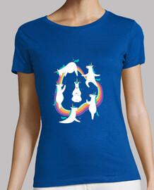 Camiseta Unicornios Yoga