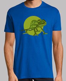 camiseta unisex - chamäleon