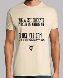 Camiseta Unisex - Concierto