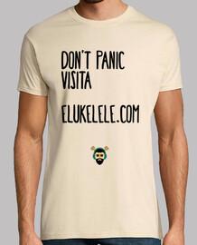 Camiseta Unisex - Don't Panic