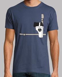 Camiseta Unisex - Nick Fury Suit