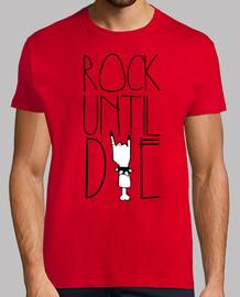 Camiseta Unisex - Rock Until Die