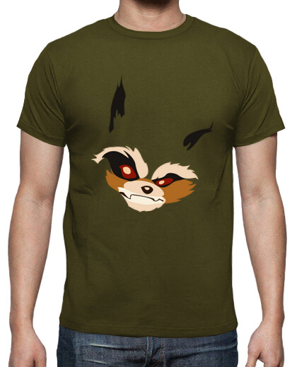 Camiseta Unisex - Rocket Racoon (With Tail)