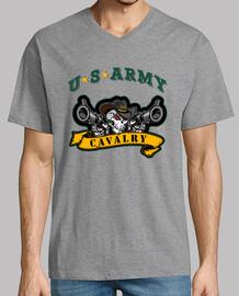 Camiseta US Cavalry mod.3