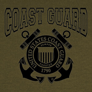 Tee-shirts Camiseta US Coast Guard mod.07