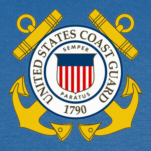 Tee-shirts Camiseta US Coast Guard mod.14