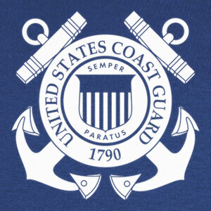 Tee-shirts Camiseta US Coast Guard mod.15