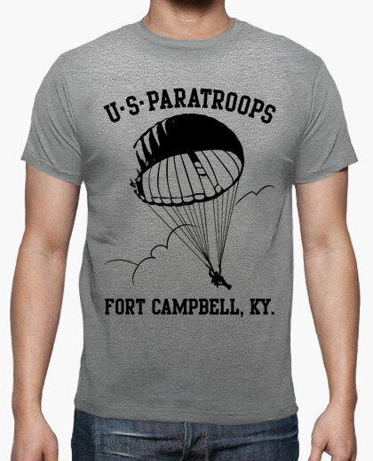 Camiseta US Paratroops Ft Campbell mod.2