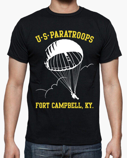 Camiseta US Paratroops Ft Campbell mod.4