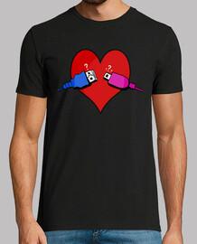 Camiseta USB Corazón