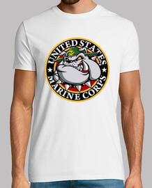 Camiseta USMC Bulldog mod.1