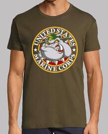 Camiseta USMC Bulldog mod.2