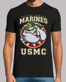 Camiseta USMC Bulldog mod.4