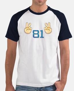Camiseta 'V81V' clásica