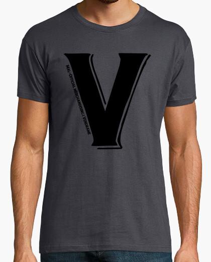 Camiseta v como vendrame genial!