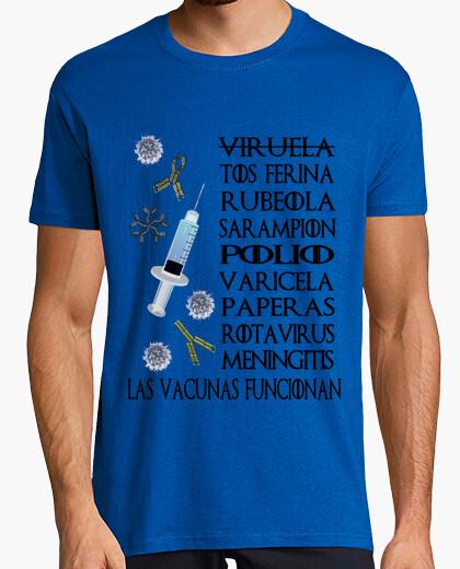 Camiseta Vaccines Work Prof Clara...