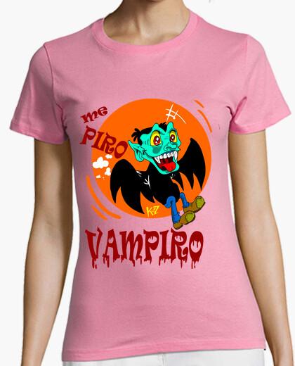 Camiseta vampiro