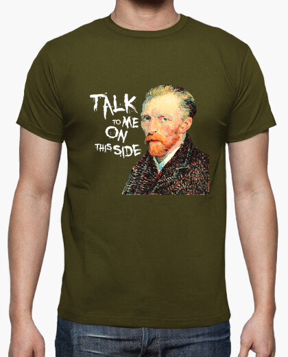 Camiseta Van Gogh - Talk to me on this side
