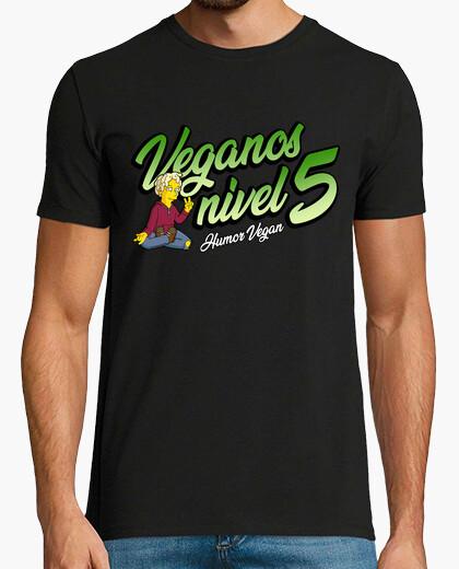 Camiseta Veganos Nivel 5