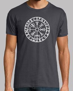Camiseta vegvisir con runas