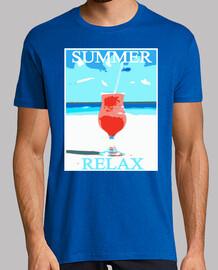 camiseta verano relax