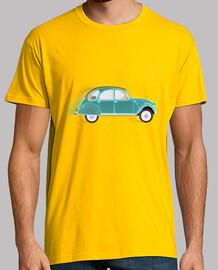 camiseta verde 2cv