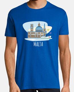Camiseta viajera Malta