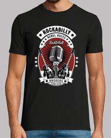 Camiseta Vintage 1950s 60s Rockabilly USA