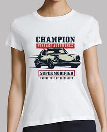Camiseta Vintage Garage Retro