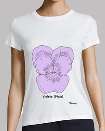 Camiseta Violeta color