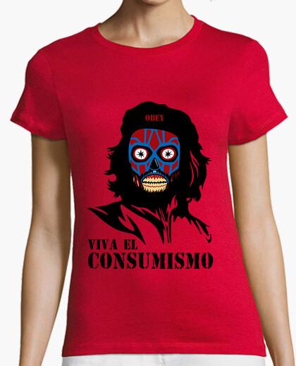 Camiseta Viva el consumismo
