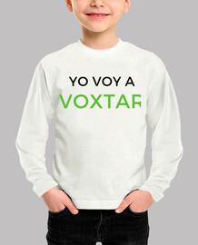 Camiseta Voxtar Niño