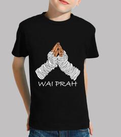 Camiseta Wai Prah niño