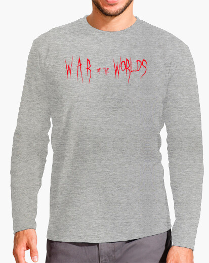 Camiseta War of the Worlds título