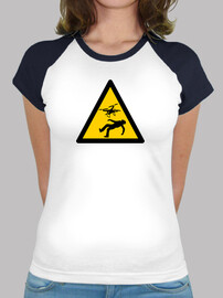 Camiseta Warning Drones Femenina