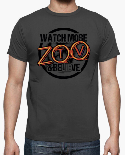 Camiseta Watch More ZOO TV