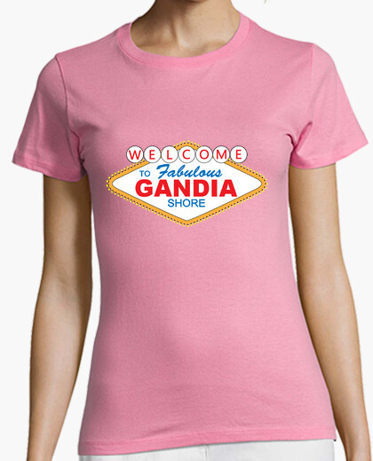 Camiseta Welcome to Gandia Shore - Chica