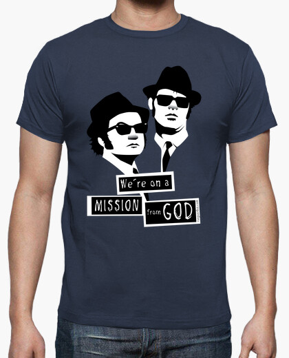 Camiseta We´re on a Mission from God