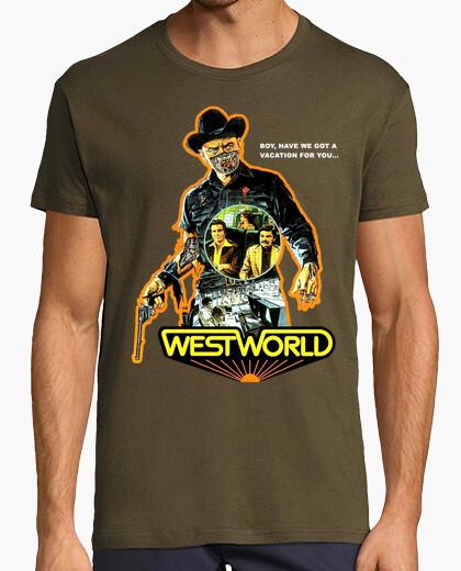 Camiseta Westworld (Almas de metal 1973)