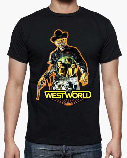 Camiseta Westworld (Almas de metal 1973)