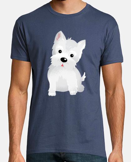 Camiseta Westy dog