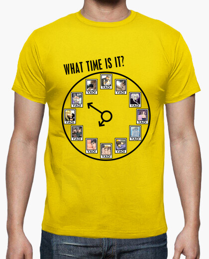 Camiseta What time is it?