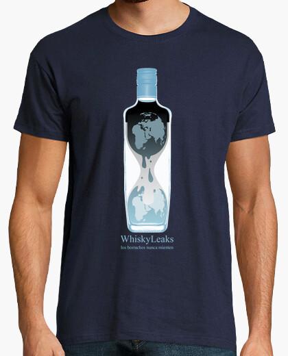 Camiseta Whiskyleaks (chico)