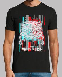 Camiseta White Noise Glitch color