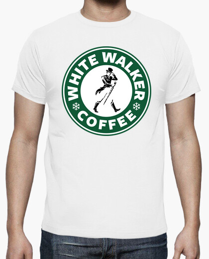 Camiseta White Walker Coffee (hombre)