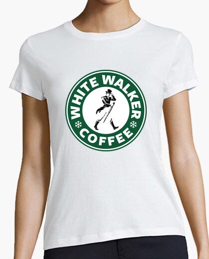 Camiseta White Walker Coffee (mujer)