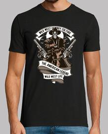 Camiseta Wild West Cowboy Culture Western