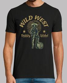 Camiseta Wild West Retro Western Vintage Oeste